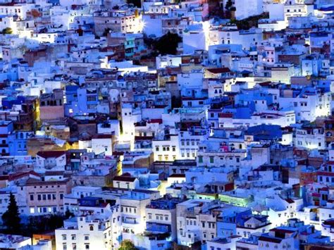 morocco blue city the city of chefchaouen in morocco is painted blue