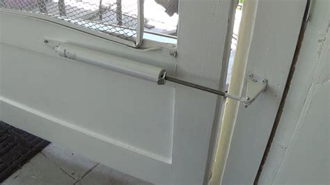 Screen Door Installation by How To Install A Screen Door Closer Doovi
