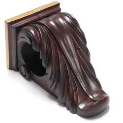 Scroll corbel walnut bracket free shipping on orders over 45