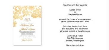 Wedding invitation wording sample verses by wedding paper as