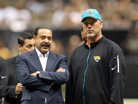 jacksonville jaguars shahid khan jacksonville jaguars doomed by being patient with gus