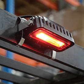 zone safety light forklifts attachments lights led forklift quot zone