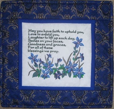 julias quilts  gaelic blessings