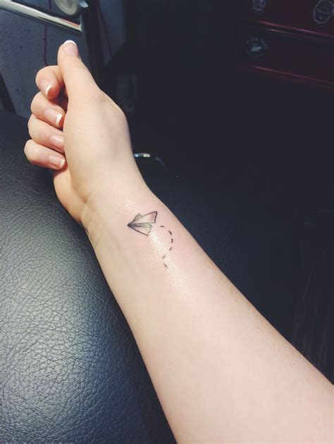paper airplane tattoo meaning best 25 paper airplane tattoos ideas on plane