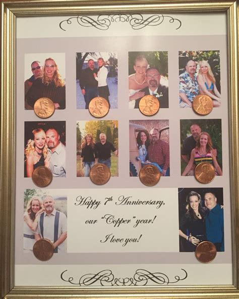 Wedding Anniversary Gifts Each Year Married by Best 25 Copper Anniversary Gifts Ideas On 7th