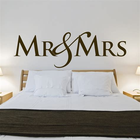 mr wall stickers mr mrs wedding wall decals