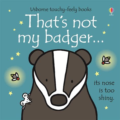 not books that s not my badger at usborne children s books