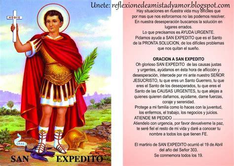 oracion para un milagro economico oracion a san expedito gallery