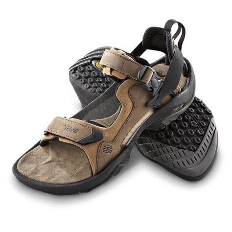 sandals select member s teva 174 terra luxe adventure sandals brown 155604
