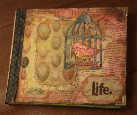 create your book mixed media projects for expanding creativity and encouraging personal growth books bound book sky pink