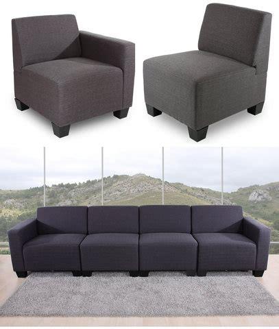 tutto divani divano modulare in tessuto antracite grandi sconti