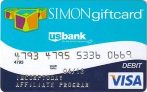 Buy Bank Of America Visa Gift Card - bank card simon gift card us bank united states of america col us vi 0060