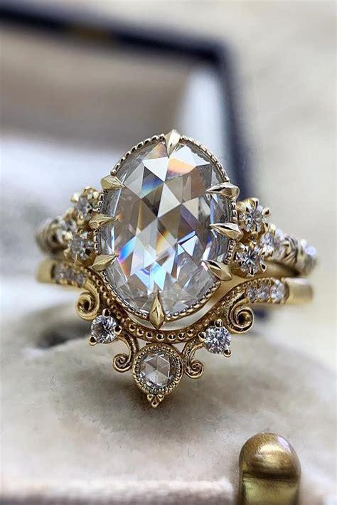 vintage wedding rings  brides  love classic