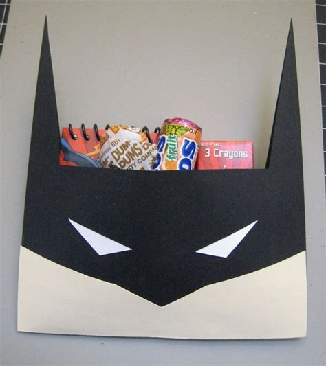 Goodie Bag Paper Bag Batman batman treat bags if my wonderful sil can