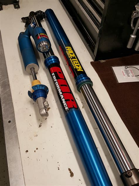 fox motocross suspension blue anodized suspension with pics moto related