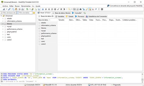 database libreria ejercicios de mysql crear la base de datos librer 237 a