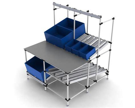 ergonomic work benches workstations flowtube work benches ergonomic lean work stations