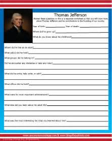 thomas jefferson biographical information collection tools