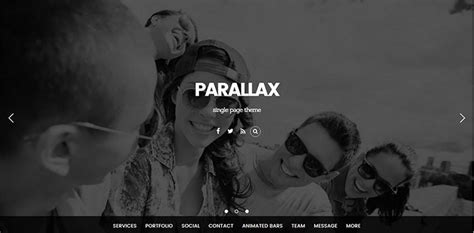 free html5 parallax scrolling template 20 parallax scrolling themes creativetemplate