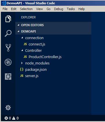 create simple node js server creating simple api in node js codeproject