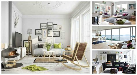 Living Room Designes by Stunning And Chic Scandinavian Living Room Designs
