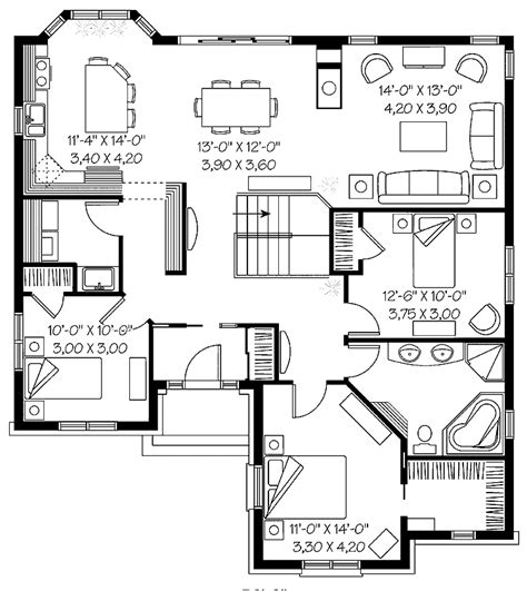 Hundreds Of House Floor Plans For Autocad Dwg Free Free Autocad House Plans Dwg