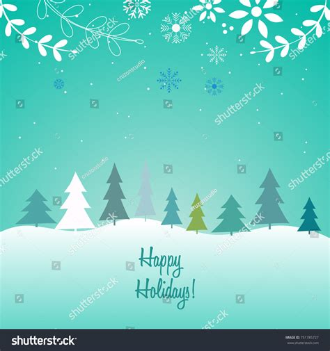 merry christmas happy new year 2018 stock vector 751785727