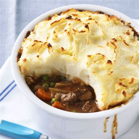 personal cottage pie with veggie medley