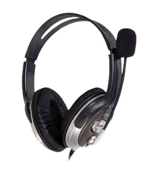 Headphone Hp Buy Hp B4b09pa Ear Headset With Mic Black At