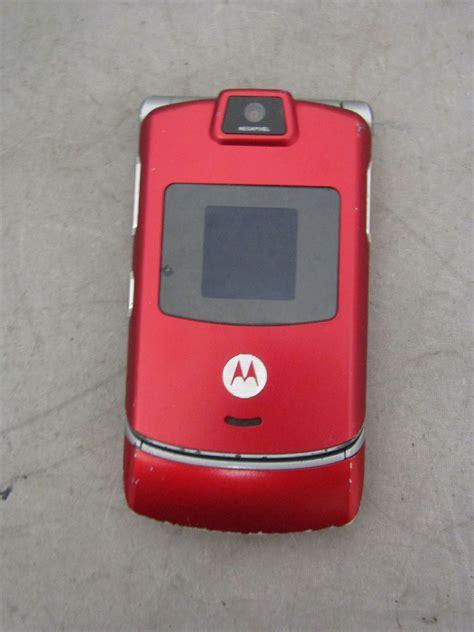 Hp Motorola Model Flip motorola razr model v3m flip phone cellphone iob w