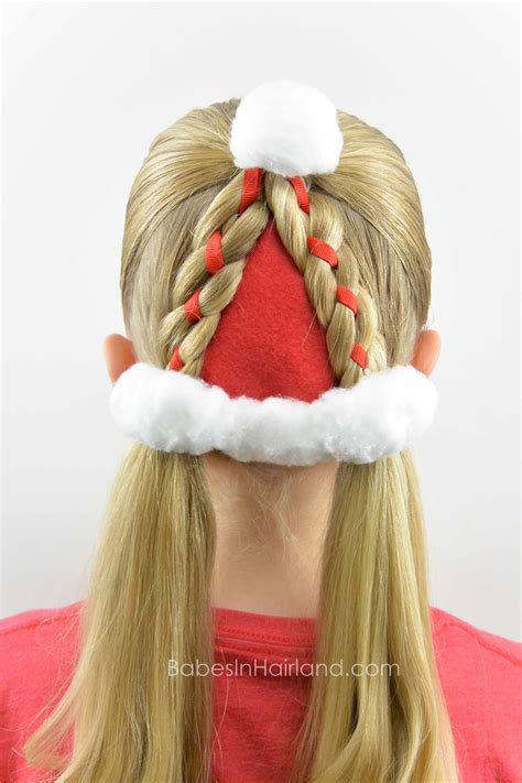 hairstyles for hat santa hat hairstyle in hairland