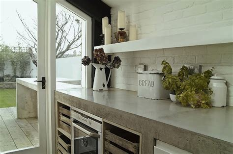 Concrete Cabinets Kitchen by Singpost Quest For Amusement Home Improvement Series