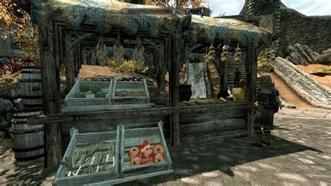 mod game market whiterun market fixes at skyrim nexus mods and community