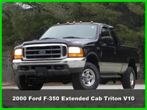 auto manual repair 1992 ford f350 navigation system sell used 00 ford f350 lariat extended cab short bed 4x4 triton v10 gas leather no reserve in