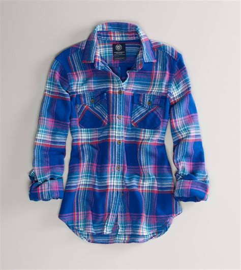 blue and red plaid flannel shirt for women immensely tough plaid shirts for women that looks cute on