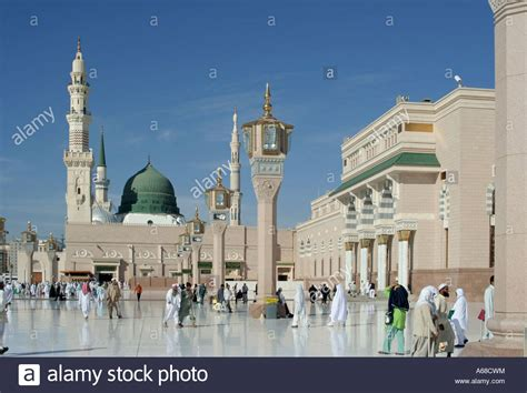 medina saudi arabia nabawi mosque in medina saudi arabia prophet muhammad
