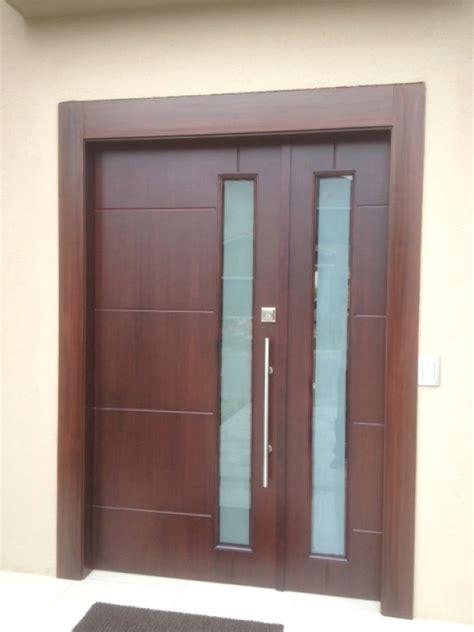 puertas de madera principal modernas  puertas de