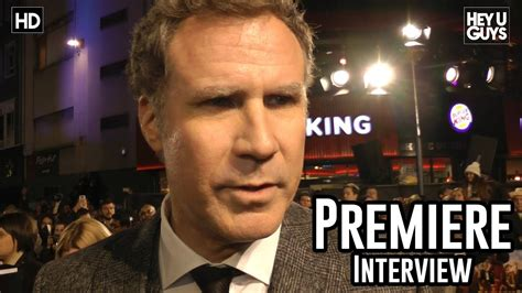 will ferrell interview will ferrell interview anchorman 2 the legend continues
