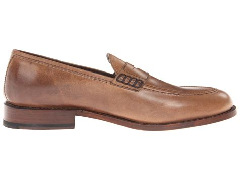 frye s loafers frye loafer in brown for lyst