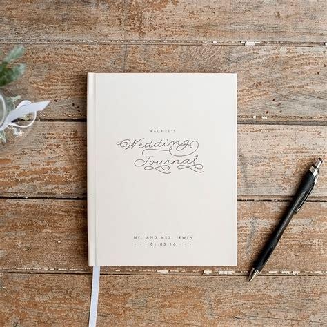 Wedding Journal Book by Wedding Planner Book Wedding Journal Personalized Custom