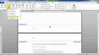 creating header and footer in word 2010 header and footer on microsoft word the best free