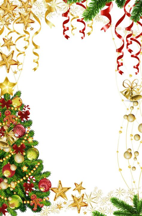 christmas letter border template collection letter cover