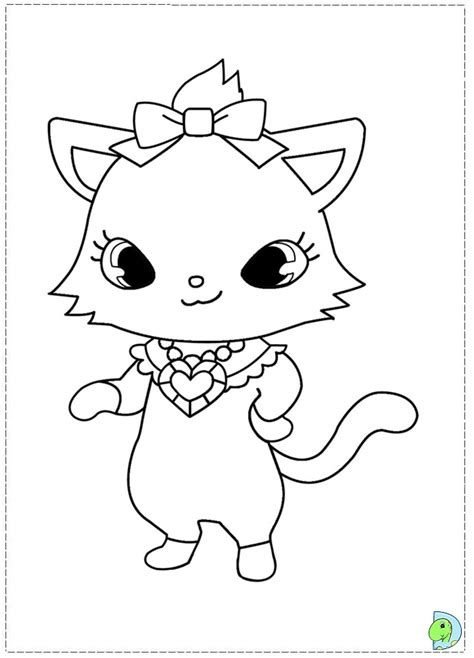 jewl pets colouring pages