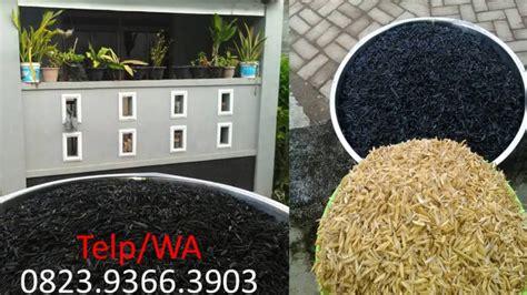 Jual Sekam Bakar Makassar produsen arang sekam padi makassar wa 0823 9366 3903