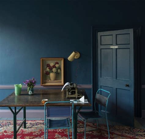 dark blue paint living room color battle navy vs indigo paint colors room paint