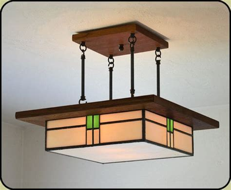 Mission Style Light Fixture Arts And Crafts Style Light Fixture