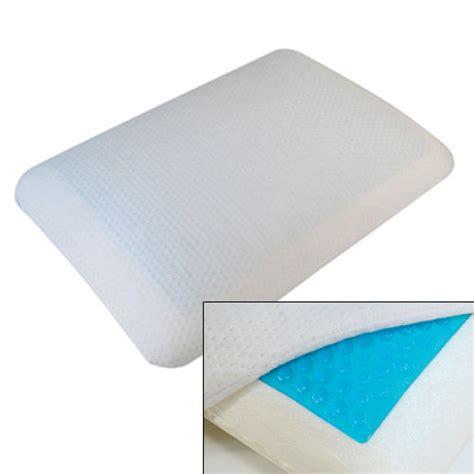 Memory Foam Pillow With Gel by Gel Memory Foam Pillow Memory Foam Pillows Complete