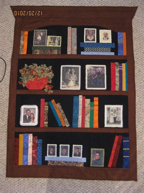 Quilt Pattern Bookcase | bookcase quilt i like the pictures quilts pinterest