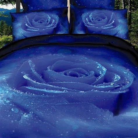blue rose comforter set blue rose bedding