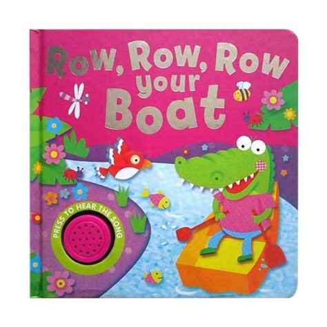 Buku Anak Sound Board Book Row Row Row Your Boat Melody jual hellopandabooks row row row your boat melody sound